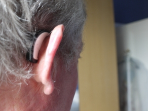 Andrew MacLeod has worn Phonak Savia hearing aids for 10 years.