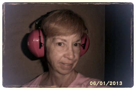 "Pam Herlacher from Oklahoma doesn't have hearing LOSS at this point; she has hearing recruitment. ""This is what my ears look like because of hearing sensitivity,"" she writes. ""I am blessed by your dedication Miss Shanna! "" Thank you for your support, Pam."