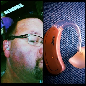 David Chrisman, who has worn hearing aids since he was six months old, snapped these photos while waiting in an airport. What a brilliant way to be productive while waiting!
