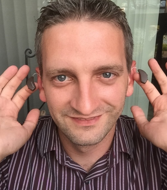 Jim, age 34, who wears ReSound hearing aids says,