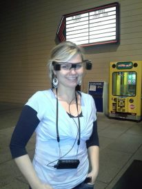 My first experience with Sony Captioning Glasses at Regal Theaters