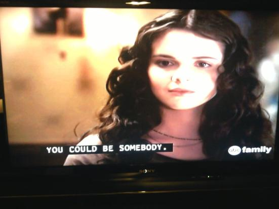 A (captioned) look at Switched at Birth with lead character, Bay