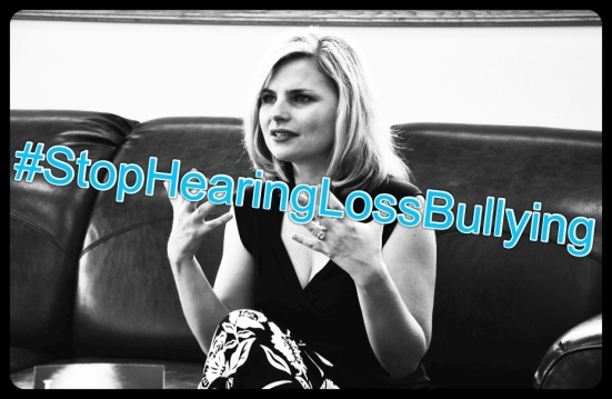 Join Lipreading Mom in #StopHearingLossBullying