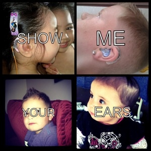 Many kids have posed for Show Me Your Ears since the campaign started in 2012.