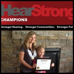 HearStrong Champions: my daughter and I